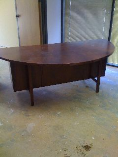 Half Round Conference Table - Half round conference table